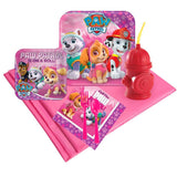 Pink Paw Patrol Girl 16 pc Guest Pack Plus Molded Cups