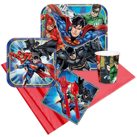Justice League 16 Guest Party Pack