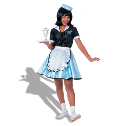 Car Hop Girl  Adult Costume