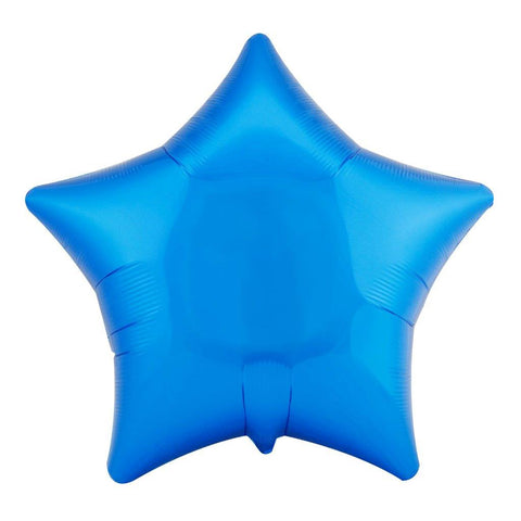 "Blue Star 18"" Foil Balloon"