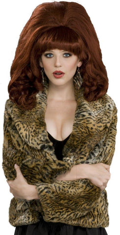 Big Red Auburn Adult Wig