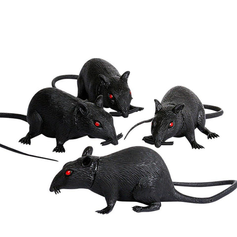 "6"" Plastic Rat (1 count)"