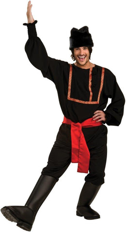 Black Russian Male Adult Costume