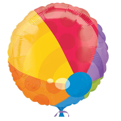 Beach Ball Foil Balloon
