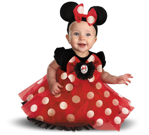 Disney Red Minnie Mouse Infant Costume - reelinthedeal