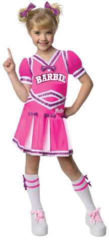 Barbie - Cheerleader Toddler/Child Costume