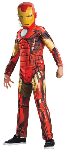 Avengers Assemble Deluxe Iron Man Child Costume