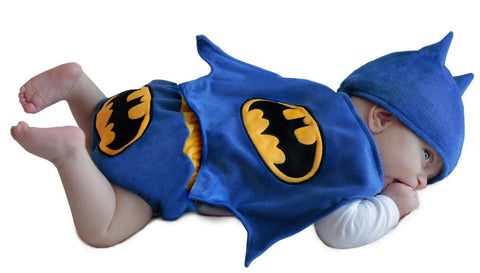 Batman Infant Diaper Cover Set