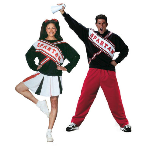 Adult SNL Spartan Cheerleaders Couples Costume
