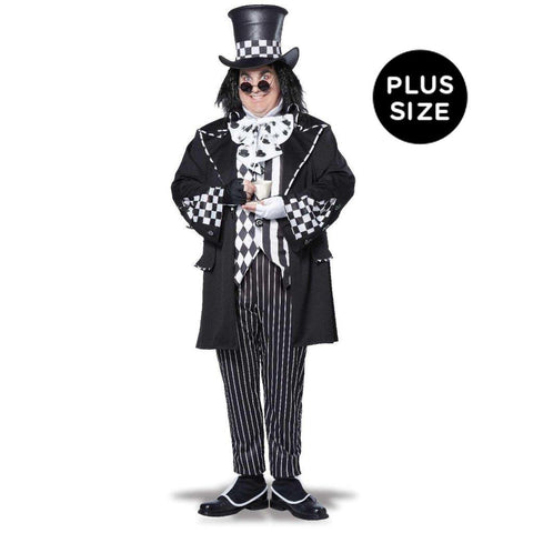 Alice in Wonderland Mad Hatter Adult Costume