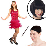 20's Vintage Inspired Flapper Adult Costume Kit