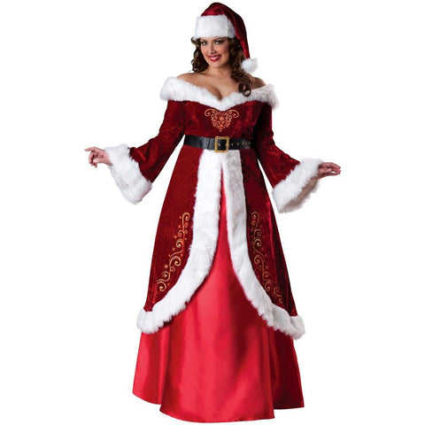 Mrs. St. Nick Plus Size Adult Costume