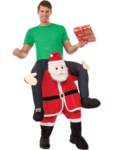 Santa On My Back Adult Costume