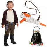 Star Wars Episode VII: The Last Jedi - Poe Dameron Child Costume with Blaster and Candy Pail