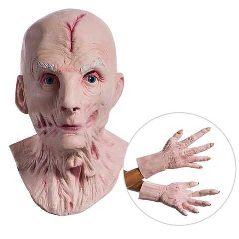 Star Wars Episode VIII: The Last Jedi - Supreme Leader Snoke Overhead Mask an Hands - One Size
