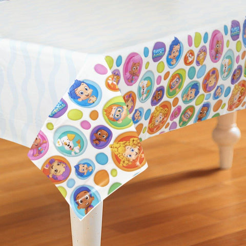 Bubble Guppies Plastic Tablecover