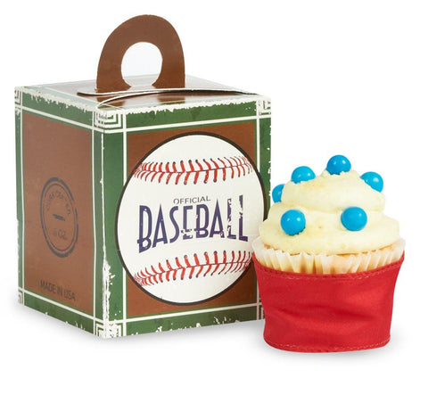 Baseball Time Cupcake Boxes