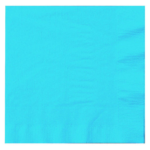 Bermuda Blue (Turquoise) Lunch Napkins