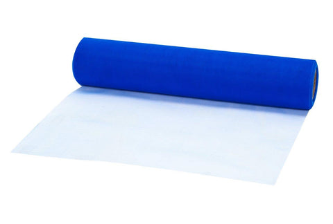 "Blue Tulle Roll (12""H)"