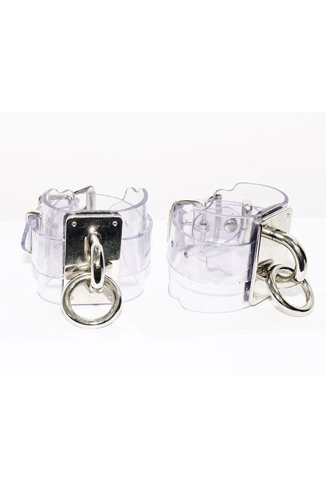 "SEE NOW SHIP NOW - Choker Cuff (2.5"") - Clear PVC"
