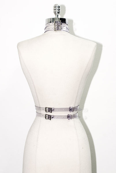 Gigi Harness - Clear PVC