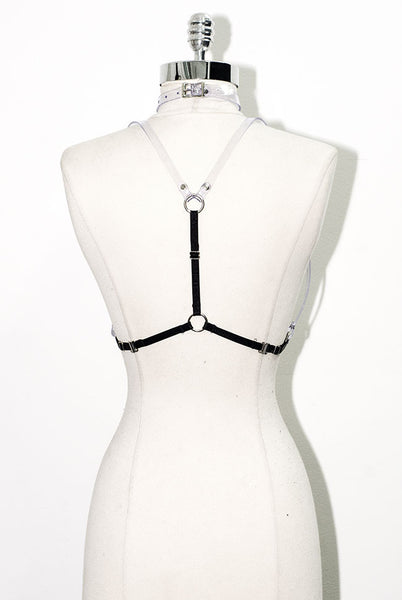 Harness Bra - Clear PVC