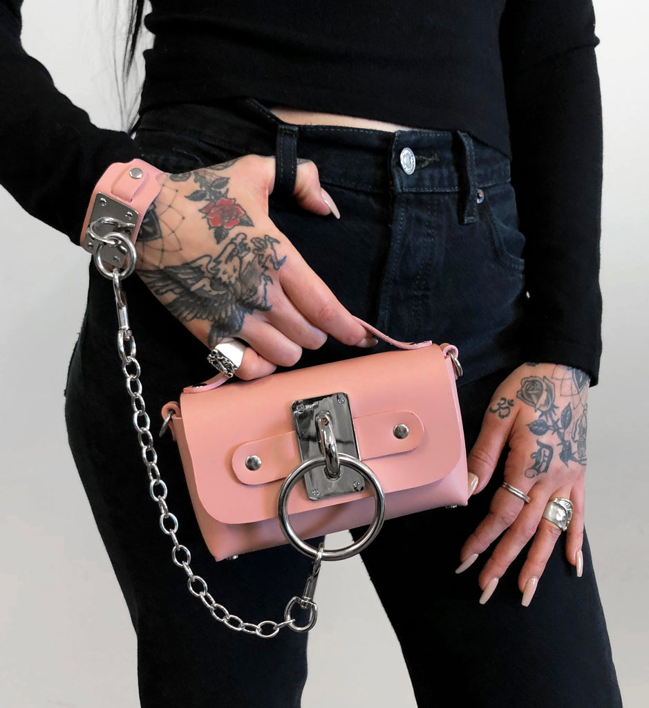 Mini Choker Bag - Blush