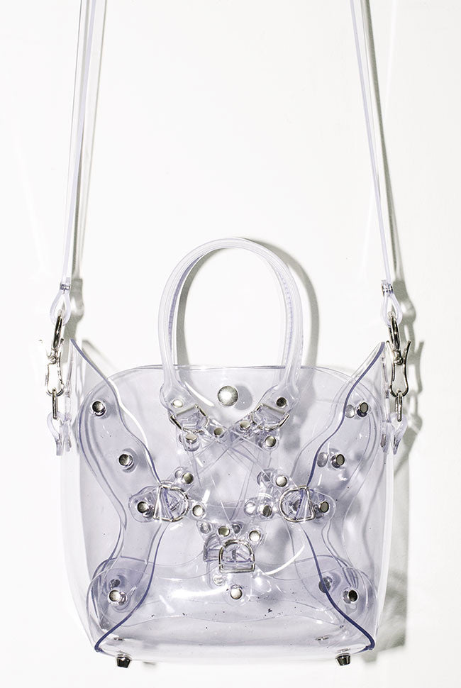 Mini Pentagram Bag - Clear PVC