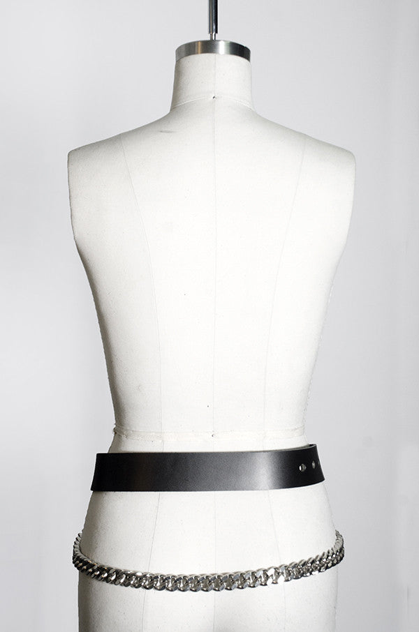 SEE NOW SHIP NOW - Ludlow Belt with Draped Chain