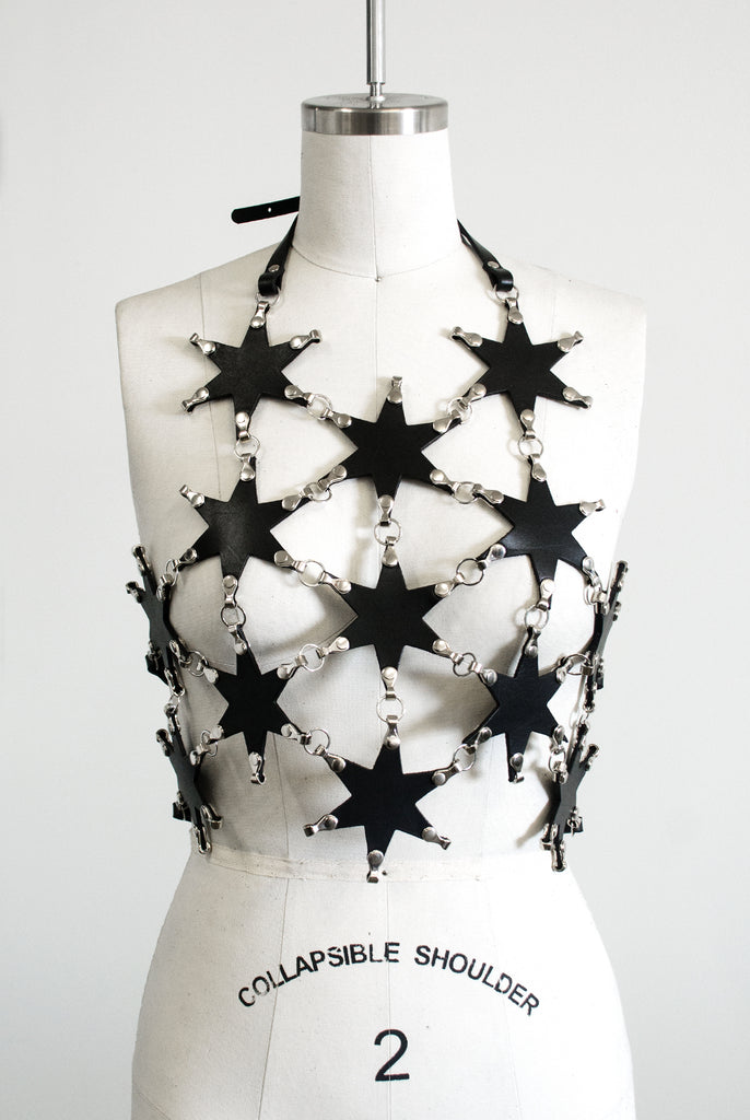 Linked Star Halter