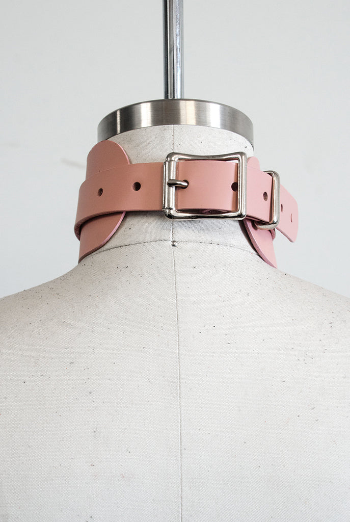 "Choker Collar (2.5"") - Blush"
