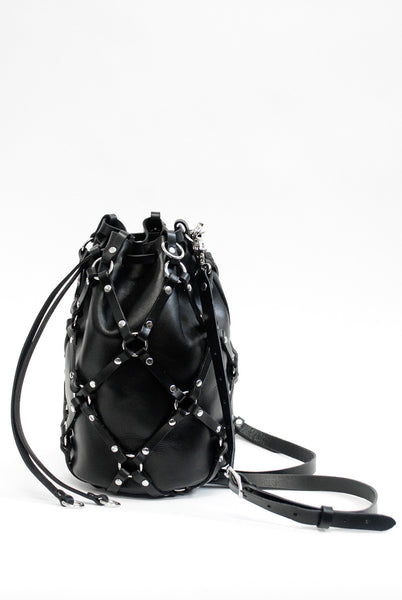 Medium Linked Bucket Bag + Backpack