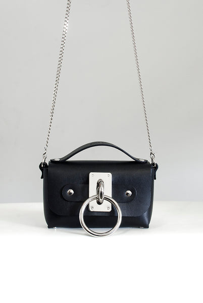 SEE NOW SHIP NOW - Mini Choker Bag - Black