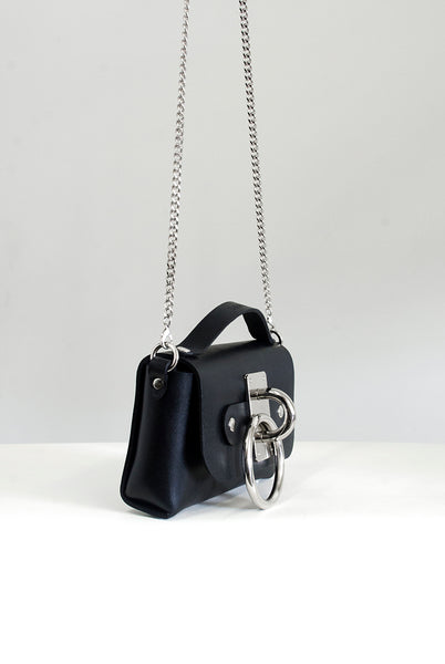 Mini Choker Bag - Black
