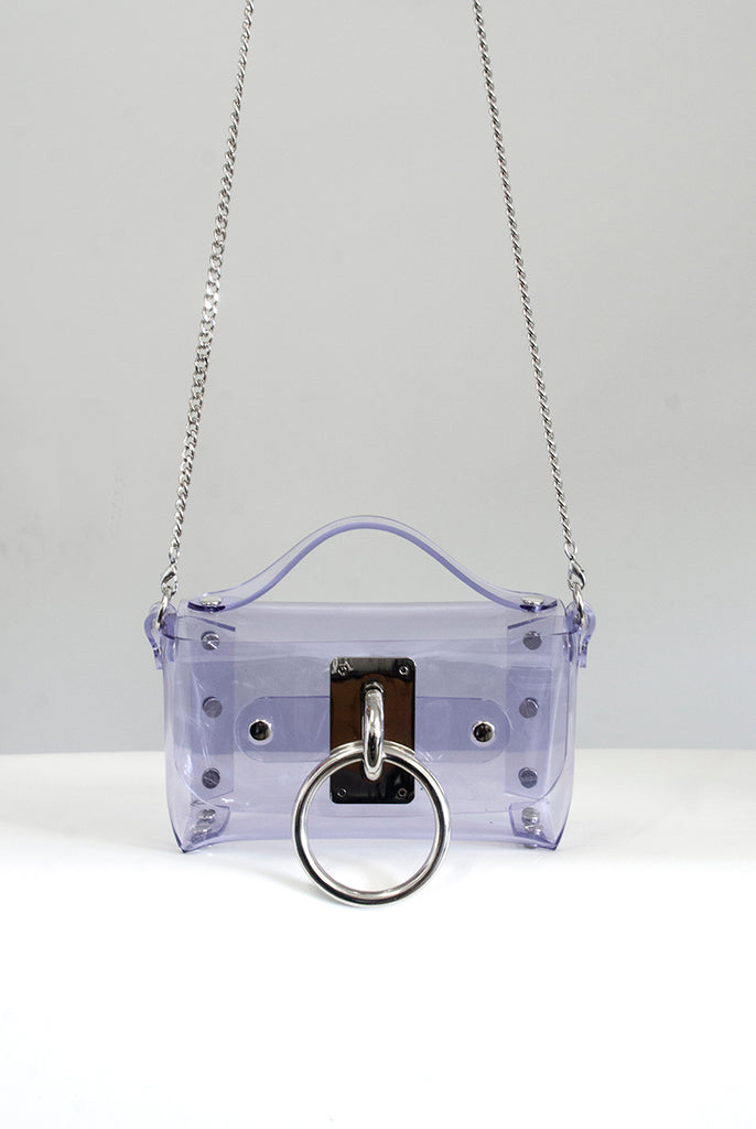 Mini Choker Bag - Clear PVC (Vegan)