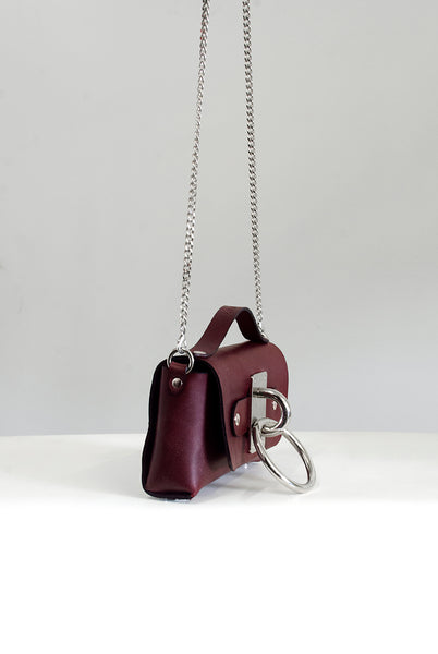 Mini Choker Bag - Oxblood