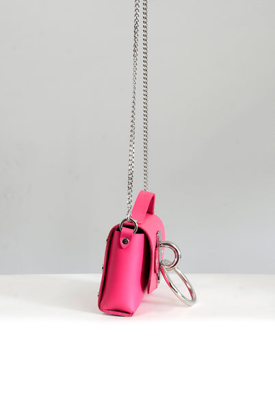 Mini Choker Bag - Pink