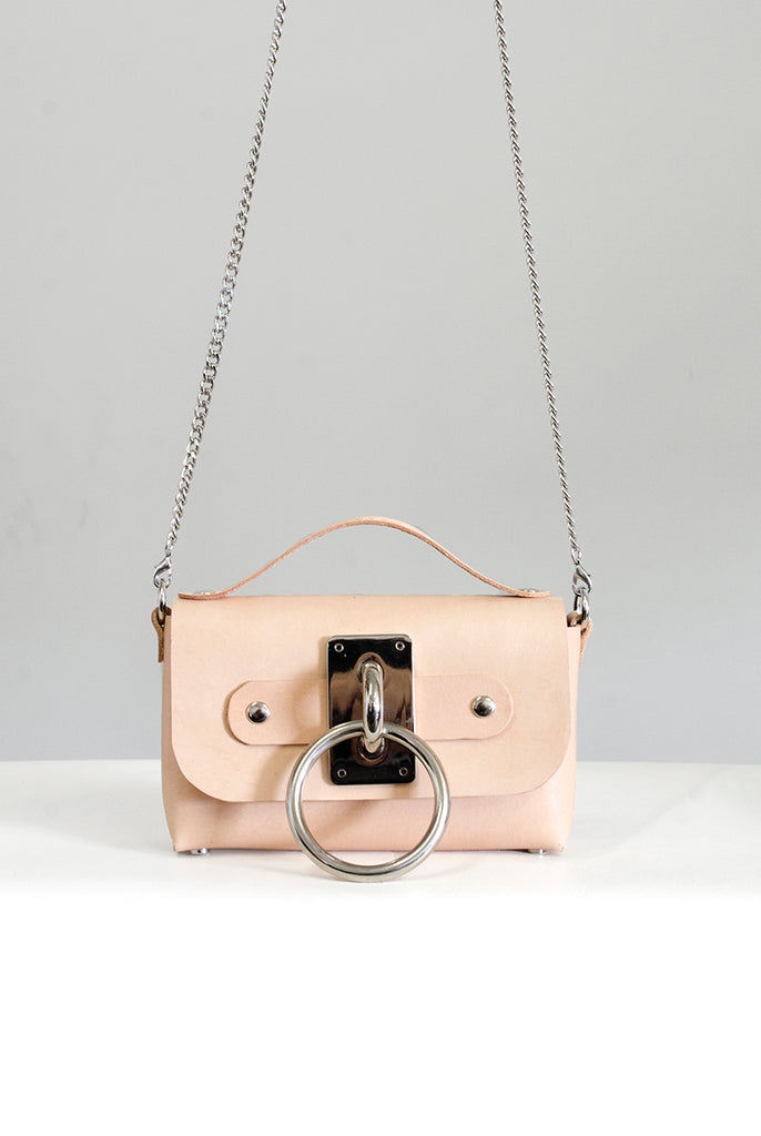 Mini Choker Bag - Tan