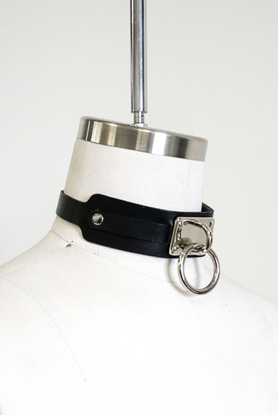 "Choker Collar (1.25"") - Black"