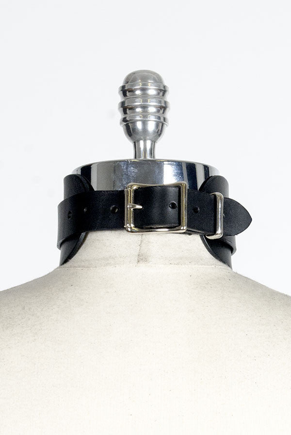 "Choker Collar (2.5"") - Silver + More Colors"
