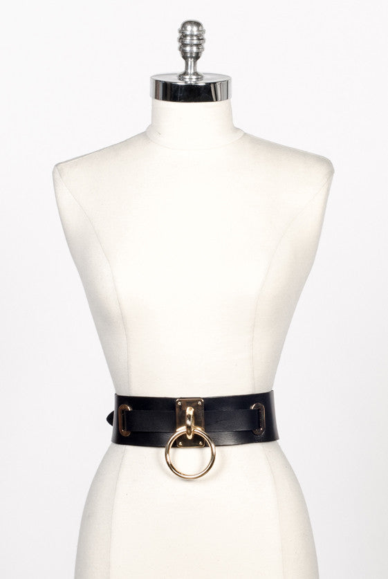"Choker Belt (2.5"") - Gold"