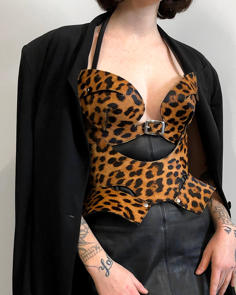 Cat-Eye Bra - Leopard