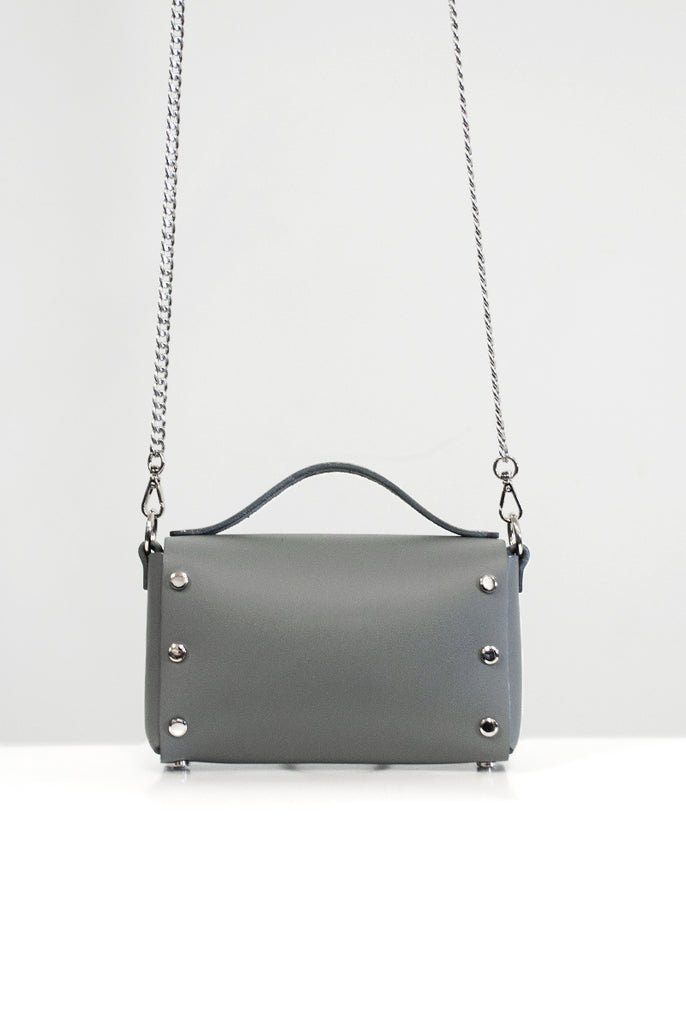 Mini Choker Bag - Grey
