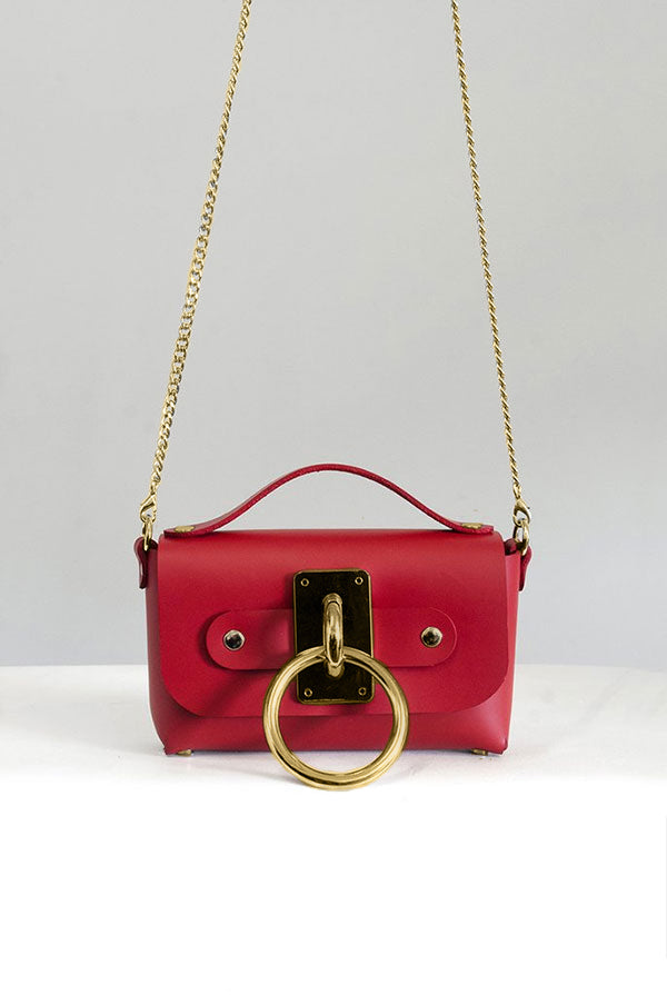 SEE NOW SHIP NOW - Mini Choker Bag - Red