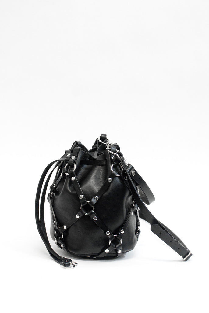 Linked Mini Bucket - Black