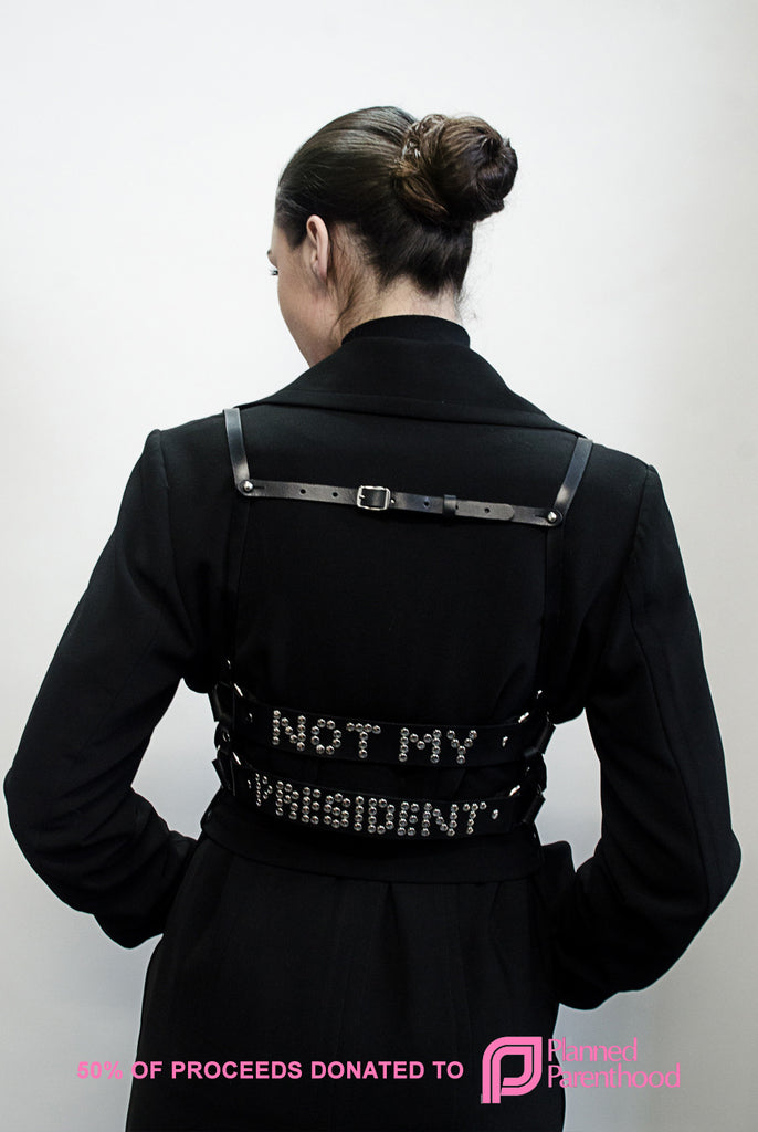 NOT MY PRESIDENT Harness