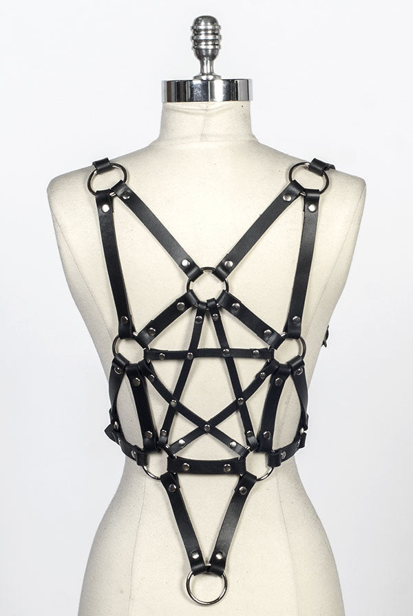 SEE NOW SHIP NOW - Pentagram Harness (More Colors)