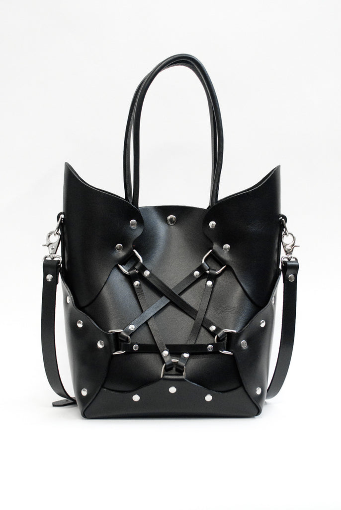 Pentagram Handbag - Black