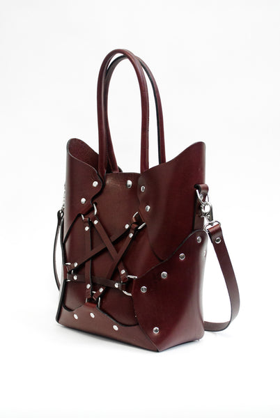 Pentagram Handbag - Oxblood