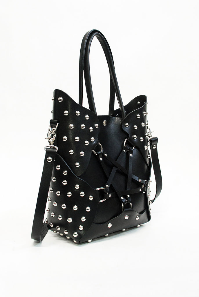 Pentagram Handbag - Studded